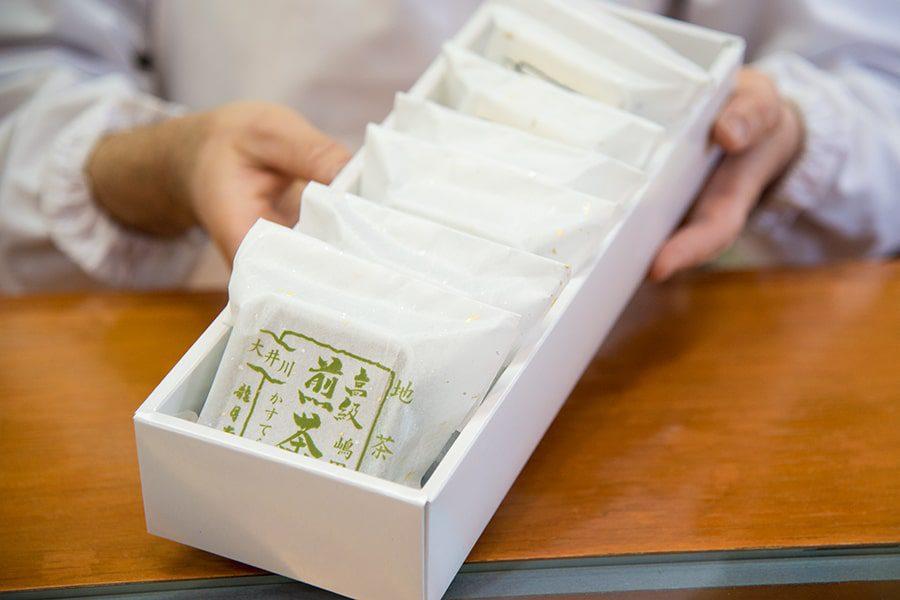 煎茶カステラギフト