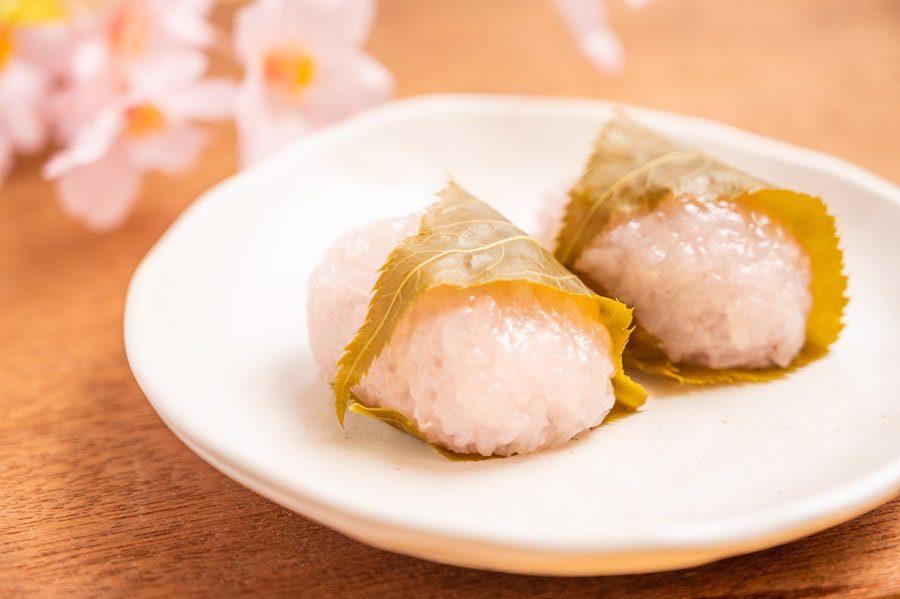 関西風桜餅道明寺