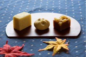 小さなお子様にも!島田産のさつまいも・栗を使った限定和菓子