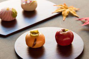 ティータイムやおもてなしに、今月の練り切りは「みのりの秋」
