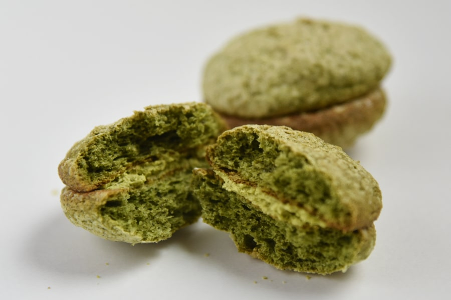 緑茶ダックワーズ