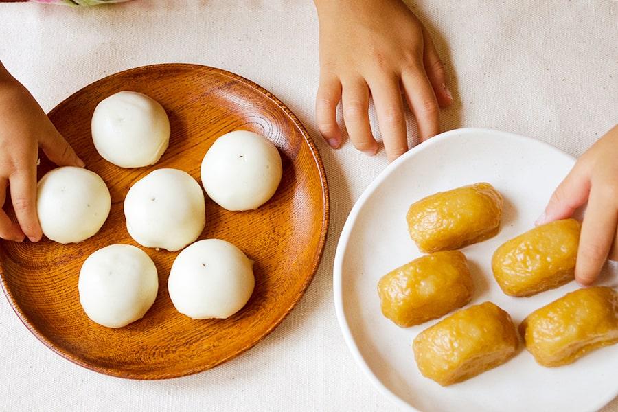 島田小饅頭&味噌饅頭