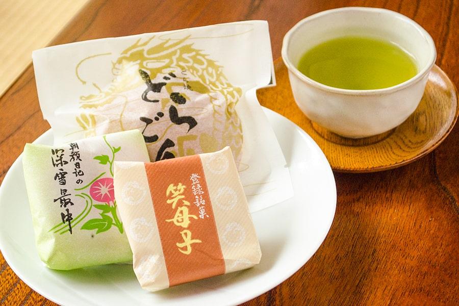 緑茶に合う和菓子