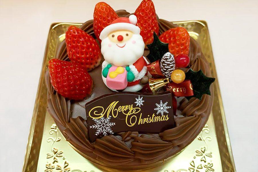 クリスマスガナッシュケーキ