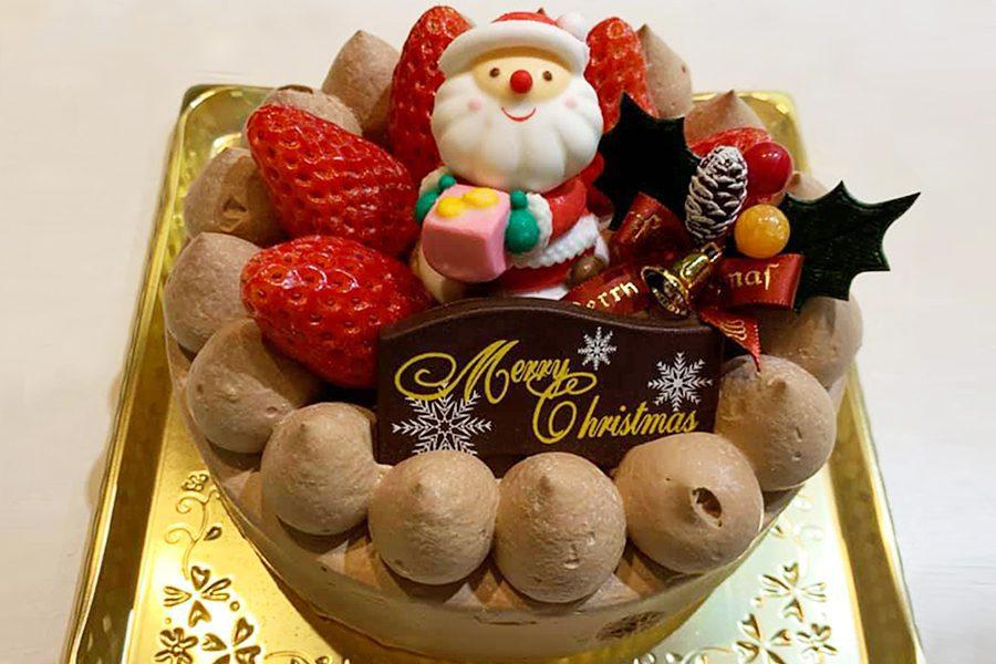 クリスマスチョコクリームケーキ