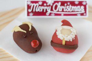 """今年のクリスマスは和菓子で""""カワイイおもてなし"""""""