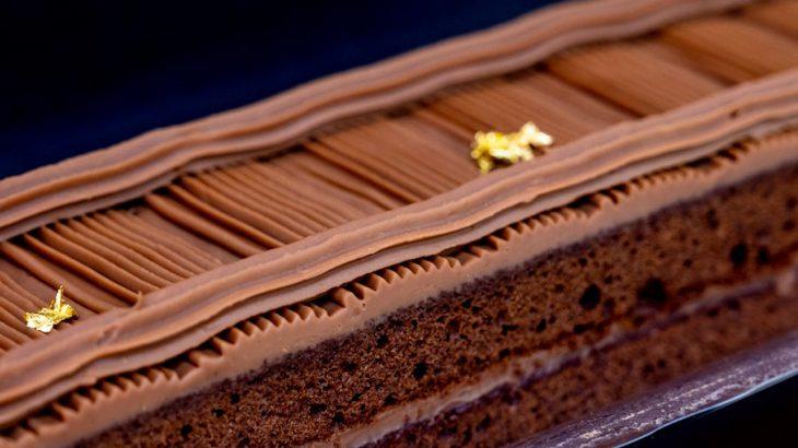 濃厚生チョコ「蓬莱橋チョコレートケーキ」